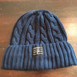 NWOT Five Four Blue Cable Knit Hat
